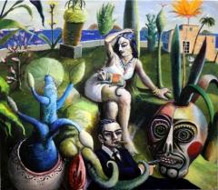 Der mexikanische Garten