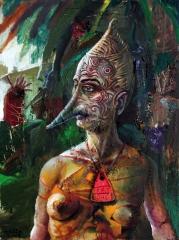 Die markierte Amazone