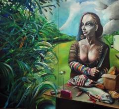 Eva und der Wald