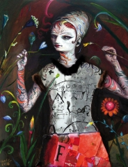 Die vielversprechende Modeschöpferin Anastasia von Rupf