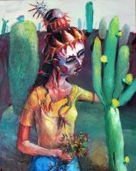Die mexikanische Chilihexe