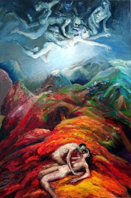 Liebe im Fleisch der Berge