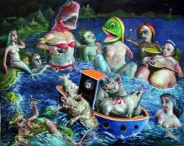 Odysseus bei den Sirenen