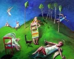 Sybilla Krolikowskis Ankunft im Himmel