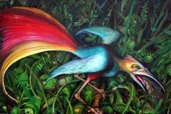 Der kotzende Paradiesvogel