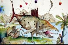 Der Fang des seltenen Behemot