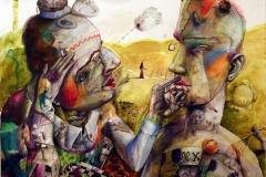 Das Duell hinter den Masken von Boris Spasski & Bobby Fisher