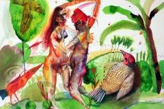 Die exhibitionistischen Blechvögel
